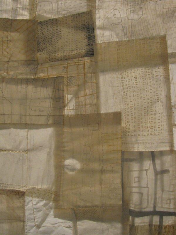 laurie's paper quilt detail